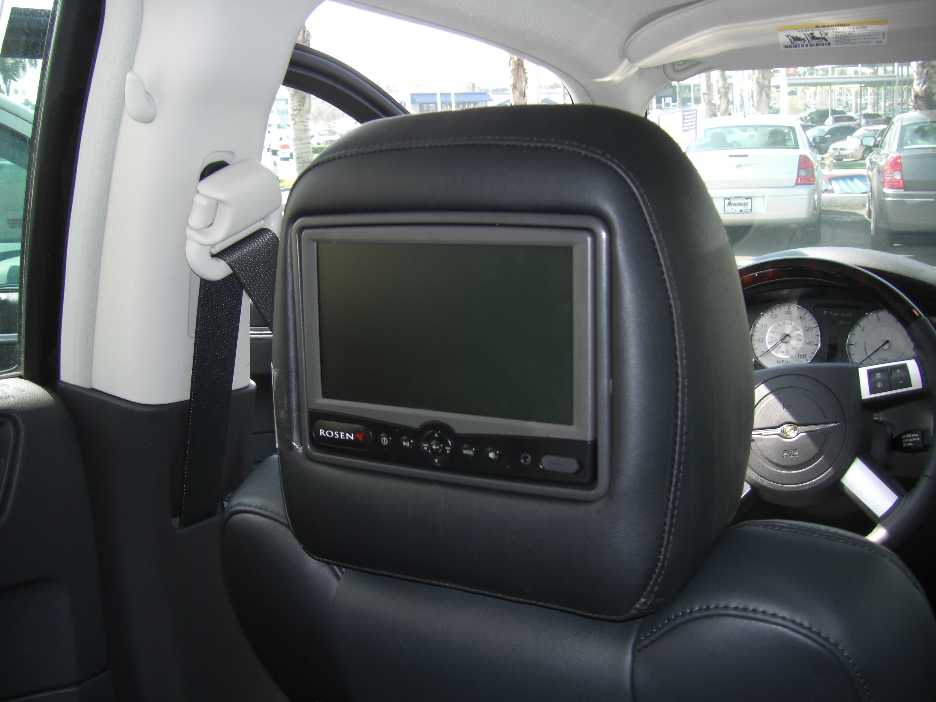 Rosen Headrest Rear Seat Entertainment Parkmyauto S Blog
