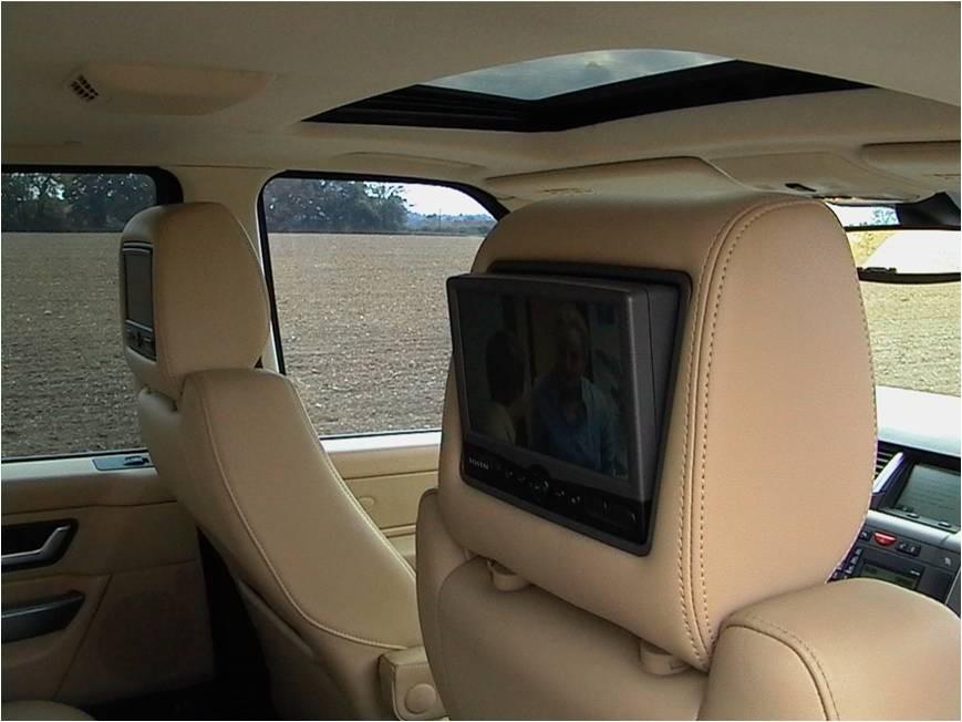 Land Rover Freelander Discovery Rosen Rear Seat Dvd