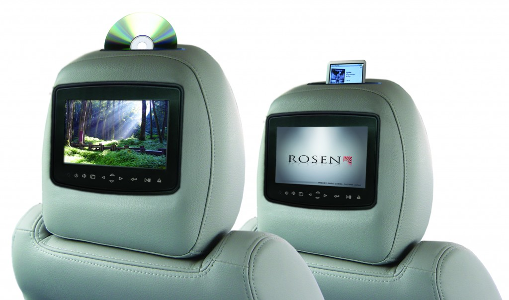 rosen av7900 in car iphone ipod dock dvd ipad games rear. Black Bedroom Furniture Sets. Home Design Ideas